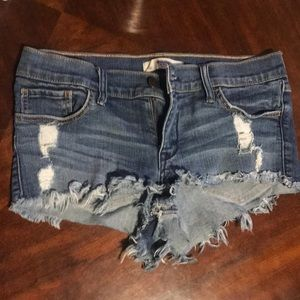 Jean Abercrombie & Fitch shorts